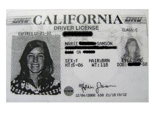 Marie Driver License without restriction after eyesight lessons