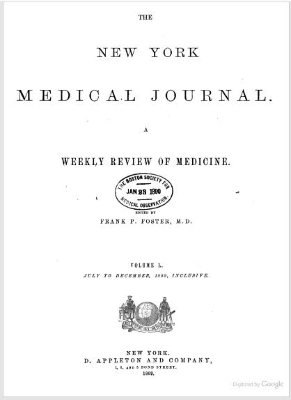 NY Medical Journal