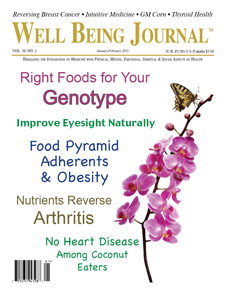 Well Being Journal with eyesight article