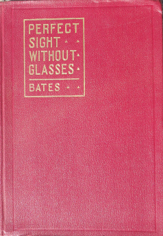 Perfect Sight Without Glasses maroon cover book