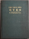 Use your own Eyes book